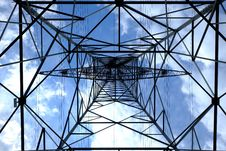 Free Low Angle Photograph Of Black Metal Tower Satellite During Daytime Royalty Free Stock Photo - 93554515