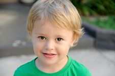 Free Blond Toddler Boy Royalty Free Stock Photo - 93555695