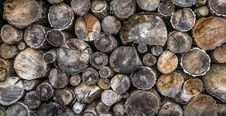 Free Firewood Log Pile Stock Photography - 93556102