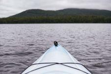 Free White Sea Kayak Stock Photography - 93556122
