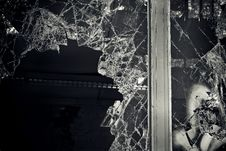 Free Broken Window Stock Image - 93556561
