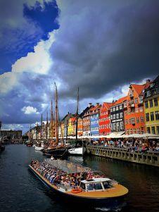 Free Nyhavn Copenhagen Stock Photo - 93559250