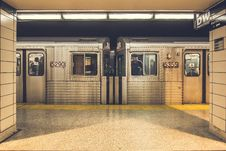 Free Inside Subway Royalty Free Stock Image - 93559656