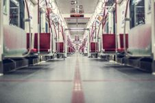 Free Empty Subway Car Stock Photos - 93560163