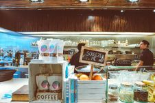 Free Coffee Shop Stock Image - 93560281