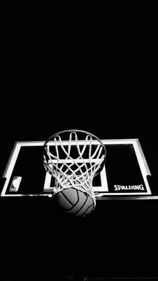 Free Basketball Through Hoop And Net Stock Photography - 93560562