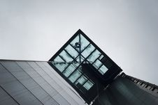 Free Low Angle Photo Of Glass Building Stock Photography - 93560652