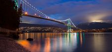 Free Lions Gate Bridge Royalty Free Stock Photography - 93560717