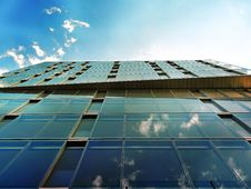 Free Glass Building Exterior  Royalty Free Stock Photography - 93561447