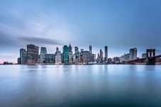 Free Manhattan Skyline At Sunrise Stock Photo - 93561720