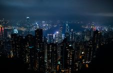 Free Hong Kong Skyline Royalty Free Stock Image - 93561786