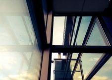 Free Sunshine Through Window In Modern Building Stock Image - 93562911
