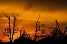 Free Sky, Afterglow, Red Sky At Morning, Sunrise Stock Image - 93563641