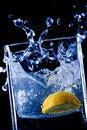 Free Orange  Splash In Water Royalty Free Stock Photos - 9367208