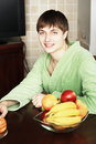 Free Fruits And Man Royalty Free Stock Image - 9369046
