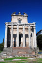 Free Ancient Temple In Roman Forum, Rome Royalty Free Stock Images - 9369849