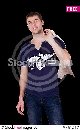 Free Handsome Young Man Royalty Free Stock Photography - 9361517
