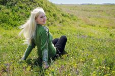 Free Girl In  Khersones Royalty Free Stock Image - 9360396