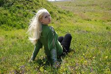 Free Girl In Nature Royalty Free Stock Image - 9360406