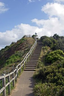 Free Stairs Leading To Cape Byron Lighthouse Stock Photo - 9360600