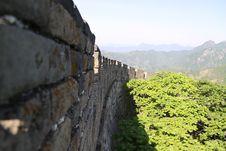 Free Great Wall Of China Royalty Free Stock Photo - 9360635