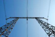 Free Electricity Pylon Stock Photo - 9361020