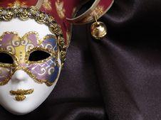 Free Venetian Mask Stock Image - 9361321