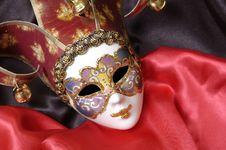 Free Venetian Mask Stock Image - 9361341