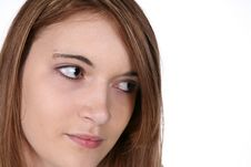 Free Close Up Of Pretty Teenage Girl S Face Stock Photo - 9362450