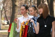 Free Shopping Women Stock Photo - 9362880