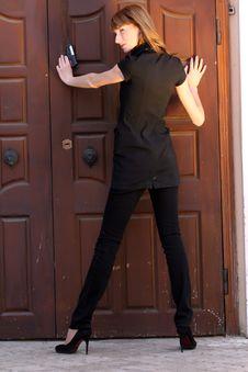 Free Female Agent Stock Photo - 9363020
