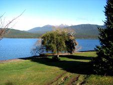 New Zealand Lake Te Anau Royalty Free Stock Images