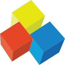 Cubes 02 Stock Images