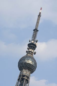 Free TV Tower Royalty Free Stock Image - 9364836