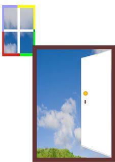 Free Door And Window Stock Images - 9364954