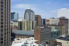 Free Downtown Cleveland Royalty Free Stock Image - 9365766