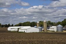 Free Farm In Wisconsin Stock Images - 9366104