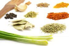 Free Spices Collection Stock Photos - 9366573