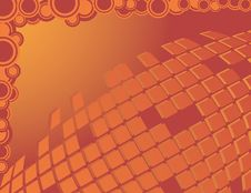 Free Abstract Orange Background Stock Images - 9366614