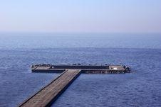 Free Gulf Pier Royalty Free Stock Image - 9366886