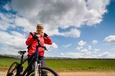 Free Relax Biking Stock Image - 9367601