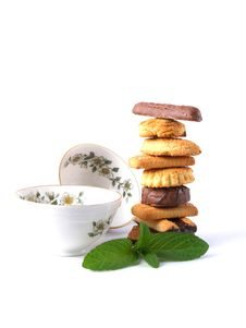 Free Pile Of  Biscuits Stock Photos - 9367793