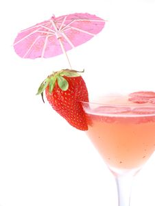 Free Strawberry Cocktail Stock Photography - 9367832