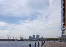 London Skyline 2009 Royalty Free Stock Photography