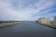 Free London City Docklands Stock Photography - 9368082