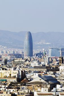 Free Torre Agbar In Barcelona Stock Photo - 9368090