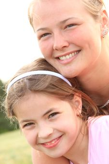 Free Sisters Stock Photography - 9368352