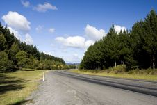 Free Highway In Rural Area Royalty Free Stock Images - 9368959