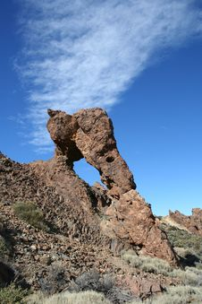Volcanic Rock OnTenerife Royalty Free Stock Photography