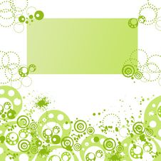 Free Green Background Royalty Free Stock Photo - 9369075